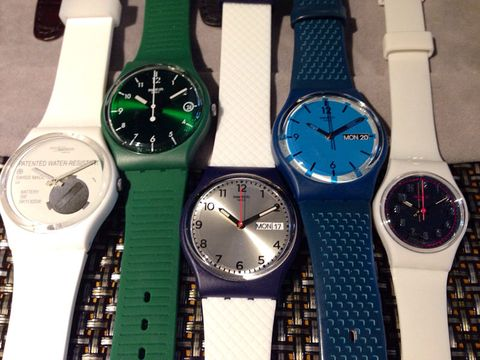 Blue, Product, Watch, Glass, Analog watch, Photograph, White, Fashion accessory, Watch accessory, Everyday carry,
