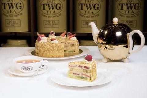 Food, Teacup, Cup, Serveware, Tableware, Tea set, Sweetness, Dish, Cuisine, Dessert,
