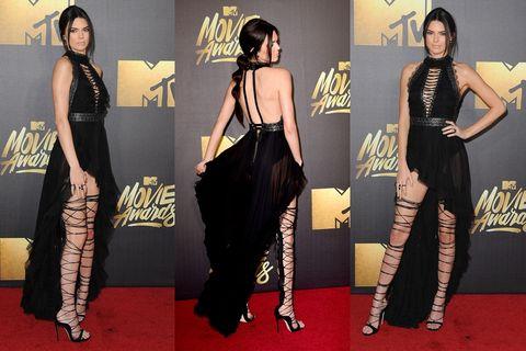 Human, Yellow, Flooring, Shoulder, Carpet, Waist, Style, Dress, Black hair, Fashion model,