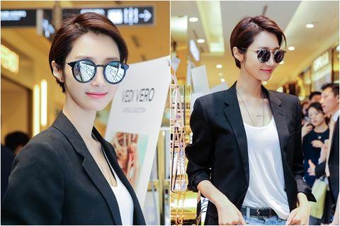 Clothing, Eyewear, Vision care, Glasses, Coat, Outerwear, Suit, Style, Fashion accessory, Blazer,