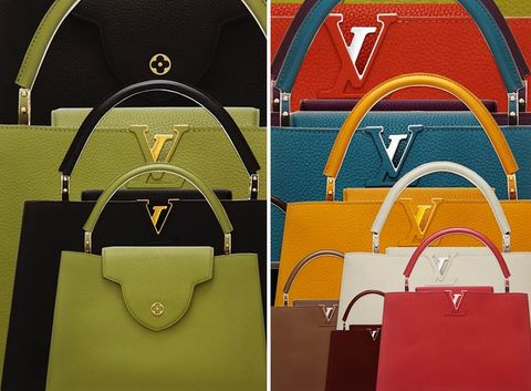 Yellow, Bag, Luggage and bags, Shoulder bag, Leather, Material property, Brand, Baggage, Kelly bag, Everyday carry,