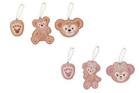 Brown, Pattern, Creative arts, Craft, Fawn, Circle, Chain, Earrings, Needlework, Pattern,