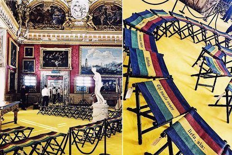 Art, Hall, Amusement ride, Roller coaster, Painting, Illustration, Ladder, Visual arts, Amusement park, Drawing,