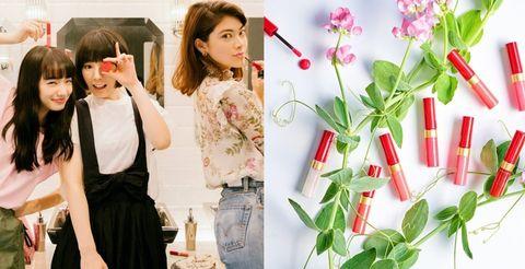 Green, Pink, Beauty, Lip, Fashion, Flower, Spring, Plant, Fashion design, Dress,