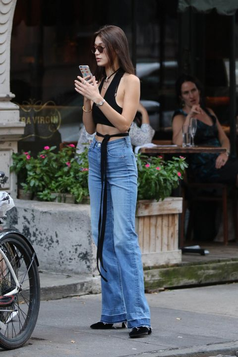 Jeans, Photograph, Clothing, Denim, Street fashion, Beauty, Waist, Fashion, Snapshot, Leg,