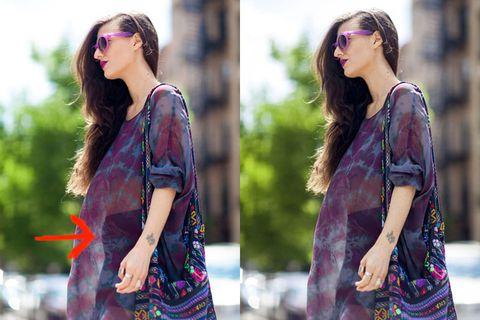 Clothing, Sleeve, Shoulder, Textile, Bag, Pattern, Fashion accessory, Style, Sunglasses, Street fashion,