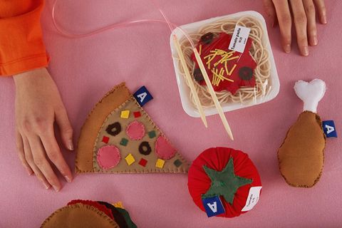 Nail, Dessert, Cake, Baked goods, Peach, Sweetness, Baking, Basket, Home accessories, Craft,