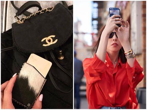 Handbag, Bag, Street fashion, Fashion accessory, Fashion, Material property, Luggage and bags, Style, Tote bag,