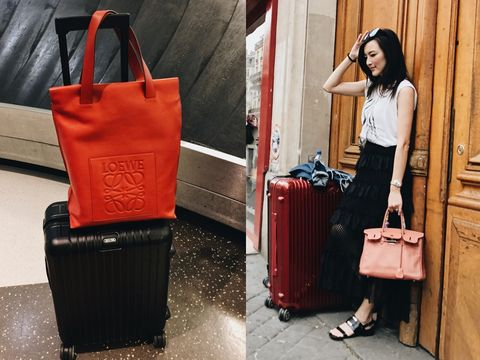 Bag, Red, Shoulder, Handbag, Street fashion, Fashion, Fashion accessory, Hand luggage, Luggage and bags, Tote bag,