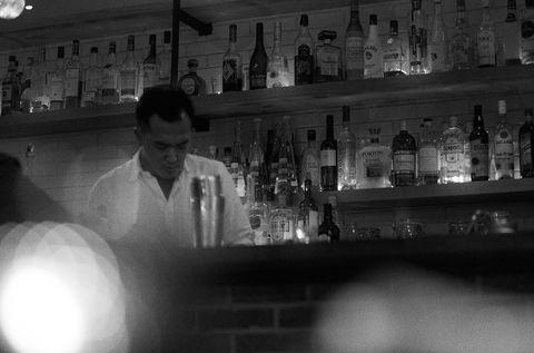 Barware, Bottle, Alcohol, Drinking establishment, Glass bottle, Alcoholic beverage, Pub, Tavern, Drink, Distilled beverage,