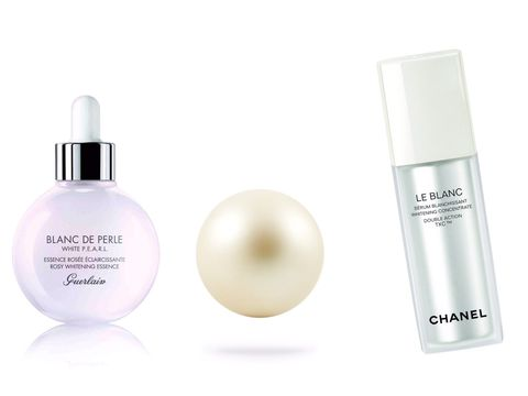 White, Tints and shades, Cosmetics, Beige, Lavender, Violet, Material property, Peach, Silver, Circle,