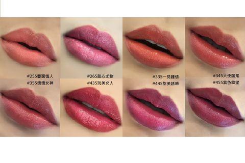 Lip, Pink, Lipstick, Cosmetics, Skin, Mouth, Lip gloss, Material property, Gloss, Tints and shades,
