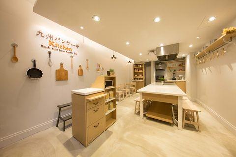 Lighting, Interior design, Floor, Room, Ceiling, Light fixture, Interior design, Flooring, Cabinetry, Beige,
