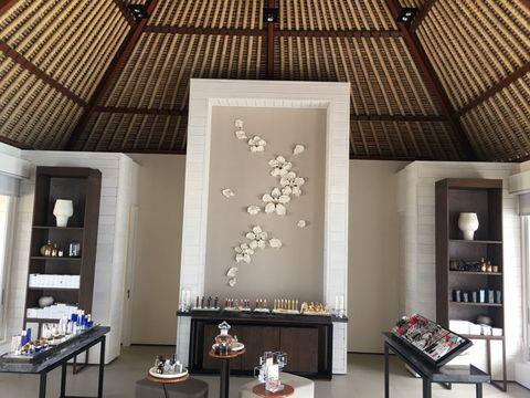 Room, Interior design, Ceiling, Wall, Furniture, Shelving, Interior design, Shelf, Light fixture, House,