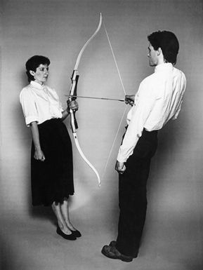 shoulder, standing, photograph, joint, bow and arrow, bow, style, arrow, archery, snapshot,