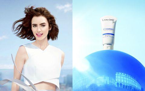 Product, Style, Beauty, Eyelash, Azure, Advertising, Aqua, Electric blue, Model, Tints and shades,