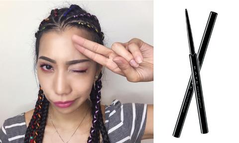 Lip, Hairstyle, Skin, Forehead, Eyebrow, Eyelash, Fashion accessory, Style, Musical instrument accessory, Jaw,