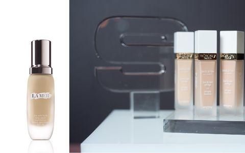 Liquid, Brown, Product, Fluid, Peach, Cosmetics, Tints and shades, Beauty, Lipstick, Tan,