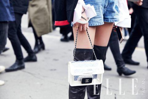 White, Photograph, Street fashion, Human leg, Leg, Footwear, Fashion, Snapshot, Thigh, Standing,