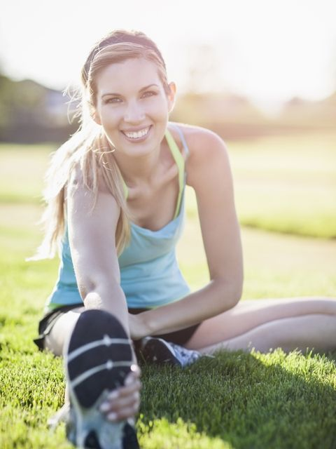 Mouth, Grass, Human leg, Shoe, Happy, Mammal, People in nature, Sitting, Knee, Summer,