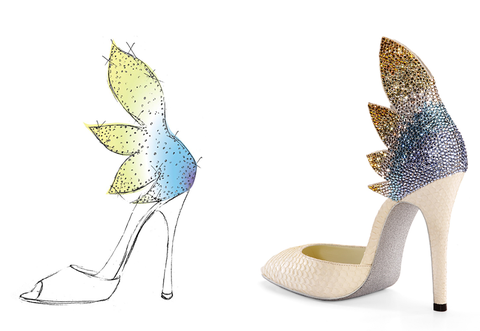 Teal, Aqua, Feather, Beige, Turquoise, High heels, Natural material, Court shoe, Basic pump, Bridal shoe,