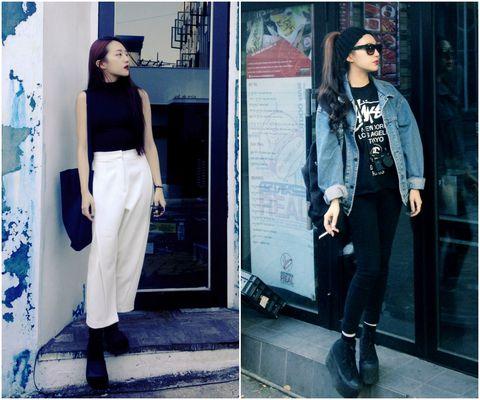 Clothing, Sleeve, Textile, Photograph, Outerwear, Style, Street fashion, Hat, Fashion accessory, Fashion,
