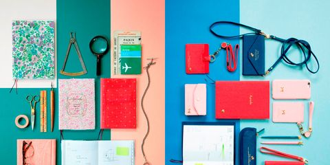 Teal, Turquoise, Stationery, Peach, Everyday carry, Wire, Office equipment, Paper product, Cable, Mobile phone accessories,