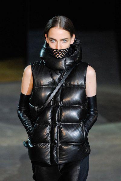 Clothing, Jacket, Sleeve, Textile, Outerwear, Latex, Leather, Leather jacket, Fashion, Black,