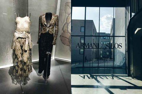 Glass, Formal wear, Mannequin, Fixture, Fashion, Boutique, One-piece garment, Fashion design, Day dress, Costume design,