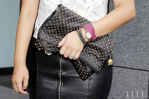 Clothing, Arm, Hand, Wrist, Pattern, Fashion accessory, Style, Fashion, Bag, Nail,