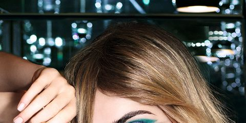 Finger, Lip, Hairstyle, Eyebrow, Hand, Eyelash, Wrist, Long hair, Eye liner, Beauty,
