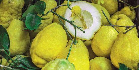 Yellow, Food, Fruit, Citrus, Natural foods, Lemon, Whole food, Produce, Citron, Meyer lemon,