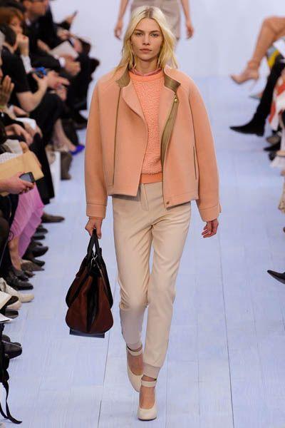 Footwear, Brown, Outerwear, Bag, Fashion show, Style, Fashion accessory, Tan, Fashion, Runway,