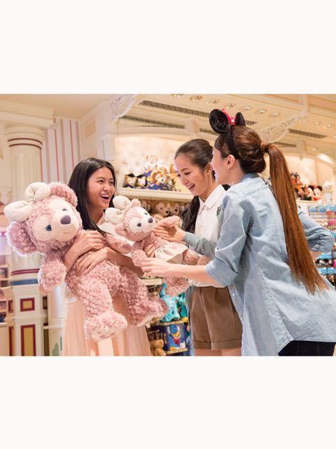 Product, Stuffed toy, Teddy bear, Plush, Toy, Peach, Baby toys, Fur, Love, Family,