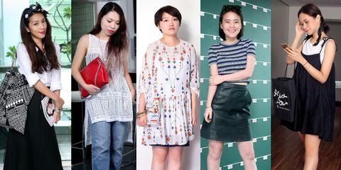 Clothing, Footwear, Leg, Dress, Outerwear, Style, Pattern, Fashion, Black hair, Beauty,