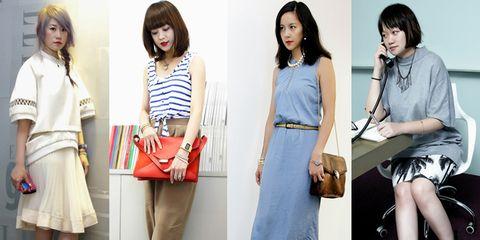 Clothing, Footwear, Sleeve, Collar, Outerwear, Bag, Style, Fashion accessory, Fashion, Street fashion,