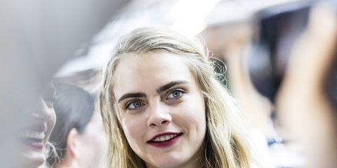 Lip, Mouth, Hairstyle, Eye, Eyebrow, Eyelash, Happy, Jaw, Youth, Blond,