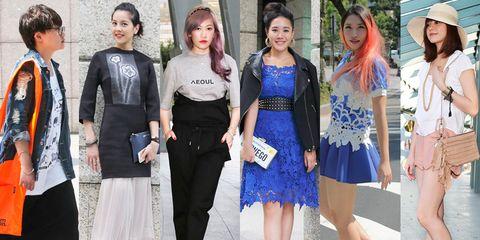 Clothing, Footwear, Leg, Trousers, Outerwear, Style, Bag, Street fashion, Fashion accessory, Dress,