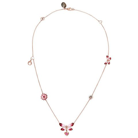 Red, White, Jewellery, Pink, Fashion accessory, Magenta, Natural material, Body jewelry, Necklace, Creative arts,
