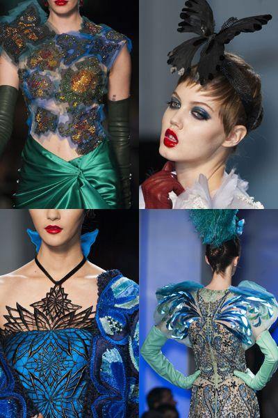 Style, Eyelash, Fashion, Costume accessory, Neck, Teal, Electric blue, Turquoise, Makeover, Eye shadow,