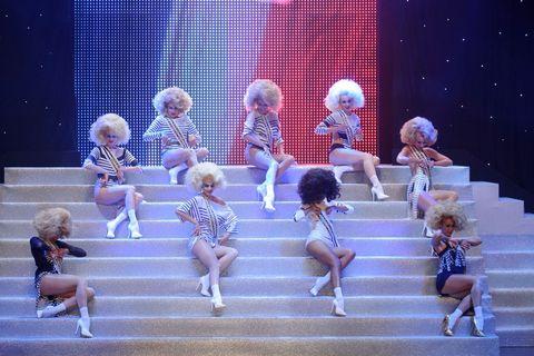 Entertainment, Pink, Stage, Magenta, Dance, Talent show, Theatre, Walking,