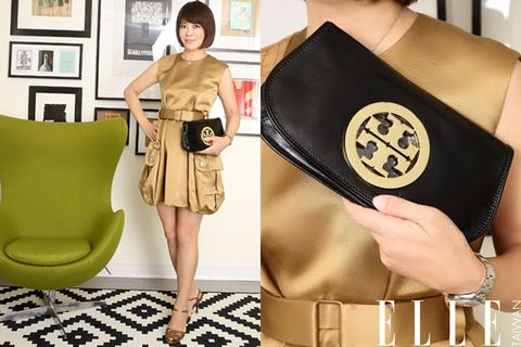 Brown, Yellow, Shoulder, Hand, Bag, Style, Dress, Fashion, Picture frame, Black,