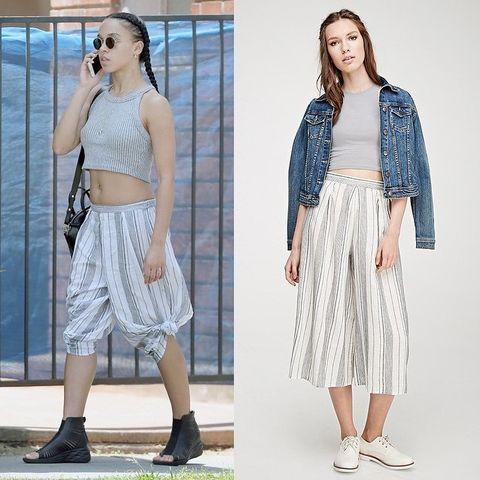 Clothing, Footwear, Shoulder, Textile, Waist, Style, Fashion accessory, Fashion, Neck, Pattern,