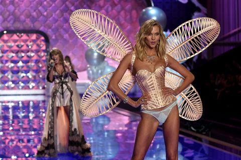 Fashion, Model, Abdomen, Wing, Undergarment, Fashion model, Decorative fan,