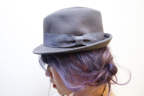 Ear, Hairstyle, Hat, Fashion accessory, Style, Headgear, Costume accessory, Hair accessory, Fashion, Costume hat,
