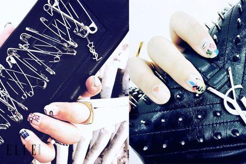 Finger, Nail, Nail care, Style, Nail polish, Manicure, Thumb, Cosmetics, Artificial nails, Silver,