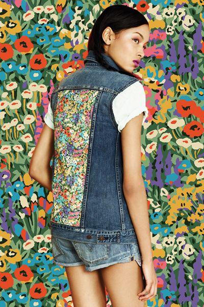 Clothing, Blue, Denim, Textile, Style, Pattern, jean short, Shorts, Colorfulness, Street fashion,