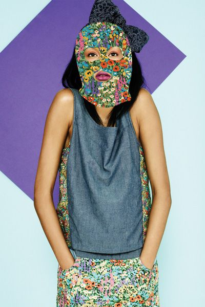 Blue, Pattern, Style, Headgear, Costume accessory, Fashion, Teal, Visual arts, Costume, Pattern,