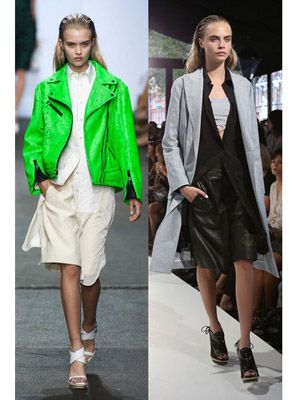 Clothing, Footwear, Product, Textile, Fashion show, Collar, Outerwear, Formal wear, Runway, Style,