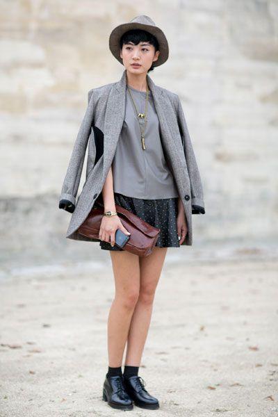 Clothing, Leg, Sleeve, Human body, Collar, Textile, Hat, Joint, Outerwear, Human leg,